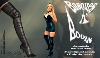 Basques and Boots Theme Party | Arousals: Image