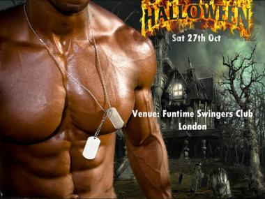 Halloween Theme Party at Funtime swingers club: Image