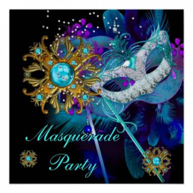 New Years Eve Masquerade Ball Theme Party: Image